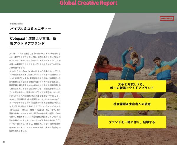 Global Creative Report