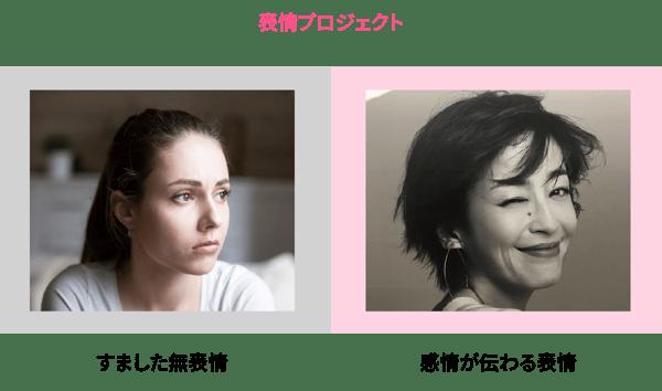 表情プロジェクト
