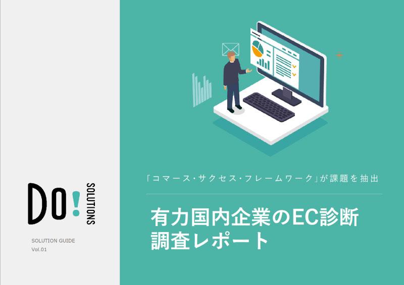 有力日本企業のEC診断調査レポート